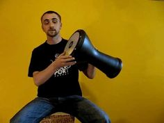 Darbuka Lesson 1 - position & strokes [B]