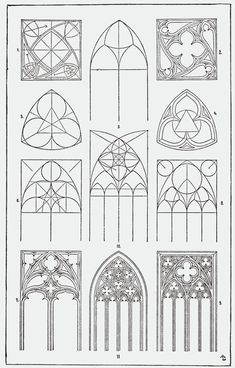 Meyer's Ornament - Orna019-Masswerk
