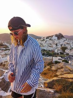 Traveling to Greece 2019 Tomboy Swag, Tomboy Girl, Androgynous Fashion, Tomboy Fashion, Mens Fashion, Best Places In Europe, Travel Vlog, Boy Models, Genderqueer
