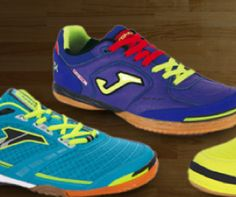Joma futsal shoes. Designed, tested and tearing up the courts in Spain and around the world!