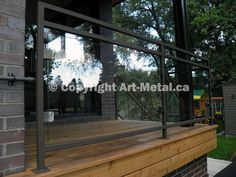 Glass Railing Systems Toronto - Stair, Balcony, Deck, Interior, Exterior
