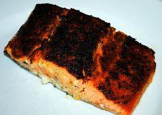 black cajun salmon