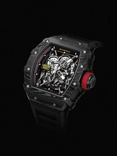 Richard Mille lanza una nueva edición del reloj de Nadal Richard Mille, Black Box, Innovative Products, Clock