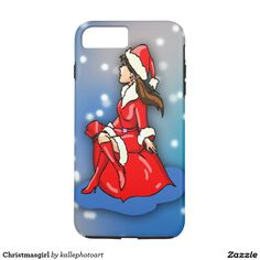 Christmasgirl iPhone 7 Plus Case