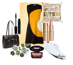 """Cool"" by mardenec ❤ liked on Polyvore featuring Converse and Charlotte Tilbury"