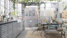 METOD BODBYN kök i klassisk grå