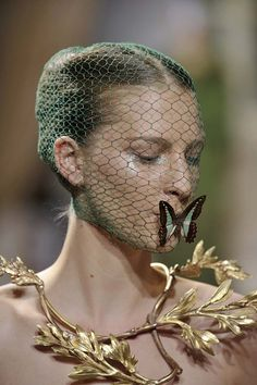 Giambattista Valli Butterflies are free and alchemists are a mystery,