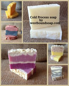 Check out these and several of my other cold process soaps. Pin this and check back as I will be adding more weekly. westboundsoap.com