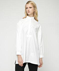 idea by MIHARAYASUHIRO(イデア バイ ミハラヤスヒロ)のSLEEP SHIRT(シャツ/ブラウス) ホワイト