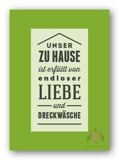 Postkarte Dreckwäsche #Postkarte #Dreckwäsche