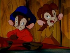 Fievel and Tanya (An American Tail: Fievel Goes West) (c) 1991 David Kirschner, Amblin Entertainment (Steven Spielberg) & Universal Pictures Disney Animated Movies, Cartoon Movies, Disney Movies, Disney Pixar, An American Tail, American Story, Disney Animation, Animation Film, Radios