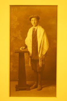 Grandpa Bud, at his Bar Mitzvah.  I have his original Tallit.
