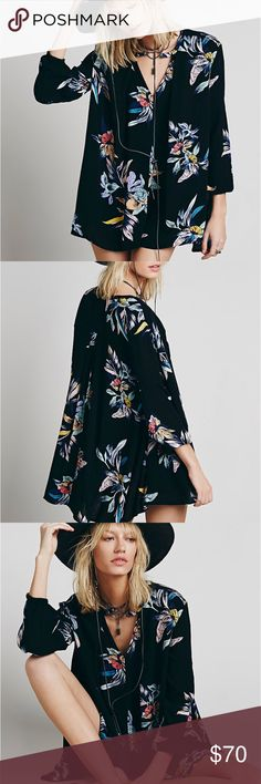 5994cc7c152 NWT Free People Electric Orchid Swing Tunic (XS) New with tags! Free People