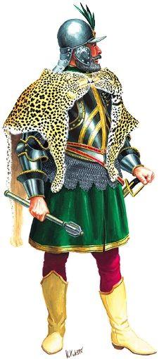 Magnate in armor, 16th/17th century