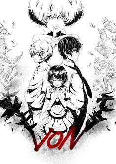 Zankyou no Terror, fan art//// How is this so beautiful