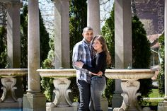 Engagement Shoot by GHP at Monmouth University! Such a beautiful day with a beautiful couple!