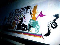 BLOOP 2014 preview MAVERICK BALEARIA BOAT bloop festival: 20th July/24th August 2014 #bloopfestival #ibiza #festival #boat #artworks