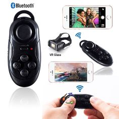 MINI Mando Remoto Controlador Bluetooth Juego Joystick Para IOS Teléfono Android