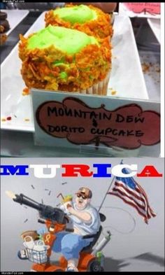 Mountain dew dorito cupcake | MonsterFail.com - Monster Fail is the #1 Site For Funny Fail Pictures, Fail Videos, Fail News, and Stories - http://monsterfail.com/2013/05/22/mountain-dew-dorito-cupcake/