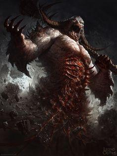 Legend of the Cryptids Demon dude ver 2 by DavidRapozaArt.deviantart.com