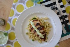 Blackened Chicken with Cilantro Lime Quinoa