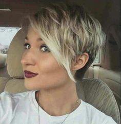 60 Awesome Pixie Haircut For Thick Hair 46 Cute Hairstyles For Short Hair, Pixie Hairstyles, Pretty Hairstyles, Short Hair Styles, Short Haircuts, Hairstyle Ideas, Medium Hairstyles, Unique Hairstyles, Short Hair Cuts For Women Pixie