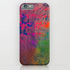 Buy Dream In Color by Vikki Salmela as a high quality iPhone & iPod Case. Worldwide shipping available at Society6.com. Just one of millions of products…#Dream in #Color with this #tropical #vivid #jungle #rainforest #floral #garden #art on #tech #accessories for #iPhone6 #phone cases for #gift #home #office by Polka Dot Studio.