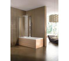 moderne-badfliesen-leichte-textur-badewanne-blattform-edeel ... - Moderne Badfliesen