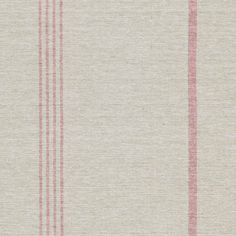 This 100% thick cotton weave Beech/Red Oxford Stripe Fabric is perfect for curtains, blinds and upholstery