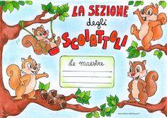 maestra Nella: la sezione degli scoiattoli e delle ranocchie