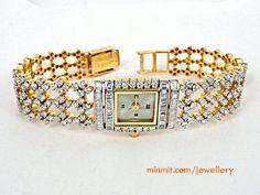 diamond-18k-gold-watch-suwansukha