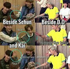 Lol exo funny joke d.o kyungsoo funny joke park chanyeol pcy funny joke Bts Got7, Chanyeol Baekhyun, Park Chanyeol, Chansoo, Baekyeol, Chanbaek, Xiuchen, Funny Kpop Memes, Kpop Exo