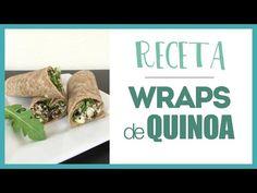 Receta Saludable ~ Wraps de Quinoa