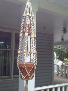 A personal favorite from my Etsy shop https://www.etsy.com/listing/234258802/macrame-plant-hanger-two-tier-double