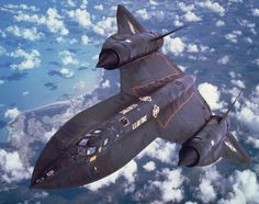 Rare photos of the SR-71 Blackbird show its amazing history