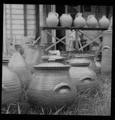 pots Pottery Art, New Zealand, Pots, Studio, Study, Planters