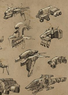 concept ships: Concept ships from openanewworld
