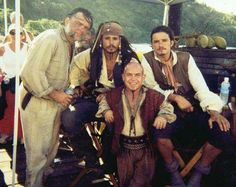 A marvelous cast!  Kevin MacNally, Orlando Bloom, Martin Klebba and the brilliant Mr. Johnny Depp....