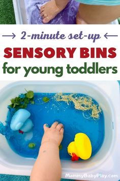 Toddler Sensory Bins, Sensory Games, Sensory Activities Toddlers, Baby Sensory, Toddler Fun, Infant Activities, Sensory Play, Infant Sensory, Montessori Toddler
