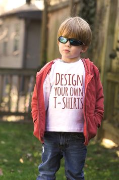 Design your own kids tees at UberPrints.com! #uberprints