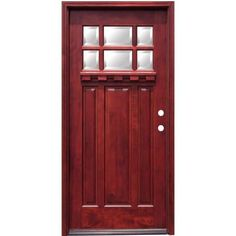 unfinished front doorJELDWEN Dutch Hemlock 9 Lite Unfinished Entry Door with
