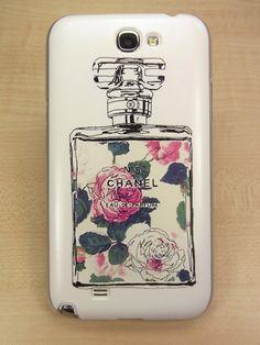 Samsung Galaxy Note 2 Chanel Perfume Case