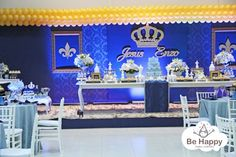 decoração de festa de principe - Pesquisa Google