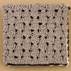Tricksy Knitter by Megan Goodacre » Free Knitting Pattern: Washcloth Quartet
