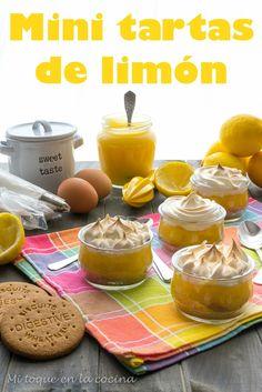Estos deliciosos postres individuales tienen un intenso sabor a limón, algo que encanta a mi familia por lo que se ha convertido en uno...