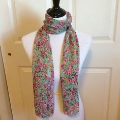 "Selling this ""Beautiful Floral Print Scarf-NWT"" in my Poshmark closet! My username is: nyreecox. #shopmycloset #poshmark #fashion #shopping #style #forsale #All Jazzed Up #Accessories"