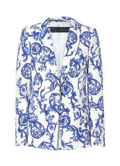 Ceramic Printed Blazer from Zara