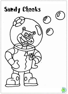 Free SpongeBob Coloring Pages For Your Little Tyke