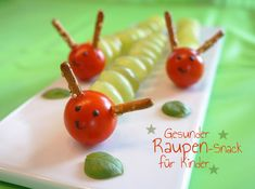 Discover recipes, home ideas, style inspiration and other ideas to try. Fun Snacks For Kids, Diy For Kids, Kids Fun, Party Finger Foods, Preschool Learning Activities, Food Humor, Funny Food, Happy Summer, Blogger Themes