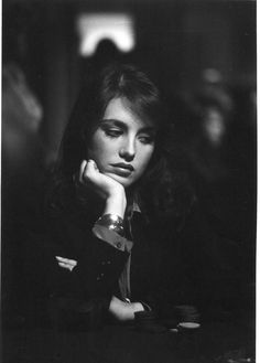 """Actress Isabelle Adjani, in """"The Driver"""" directed by Walter Hill, 1978 by Nancy Ellison"""